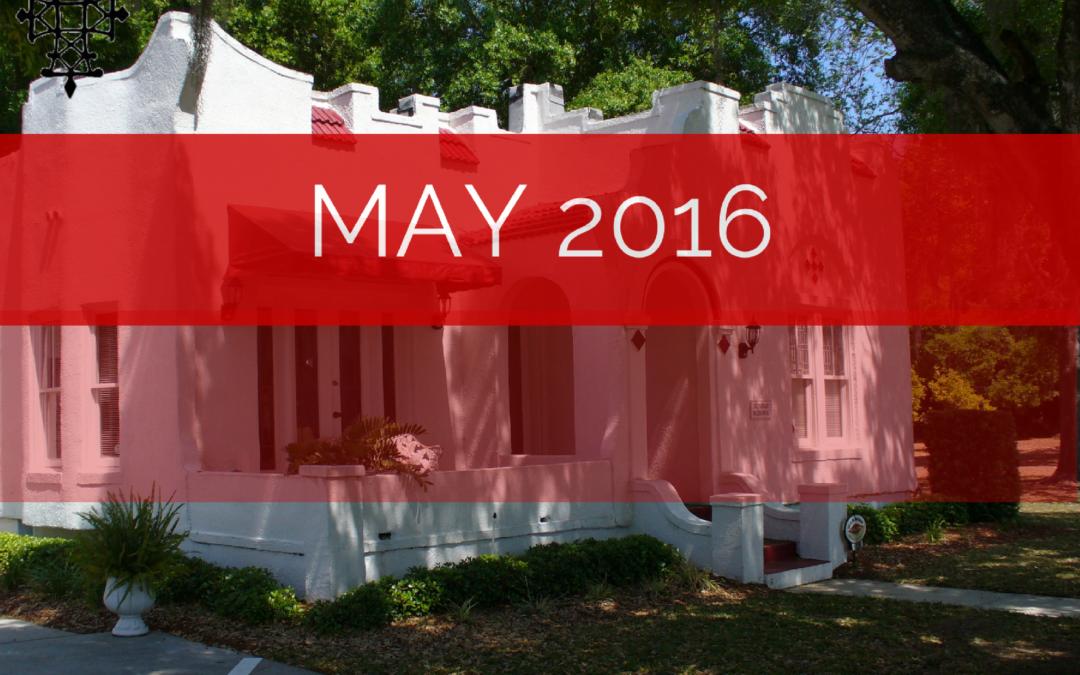 Sermons – May 2016