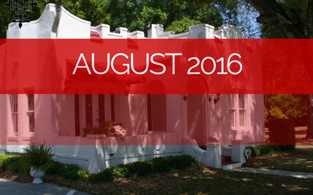 Sermons -Aug 2016