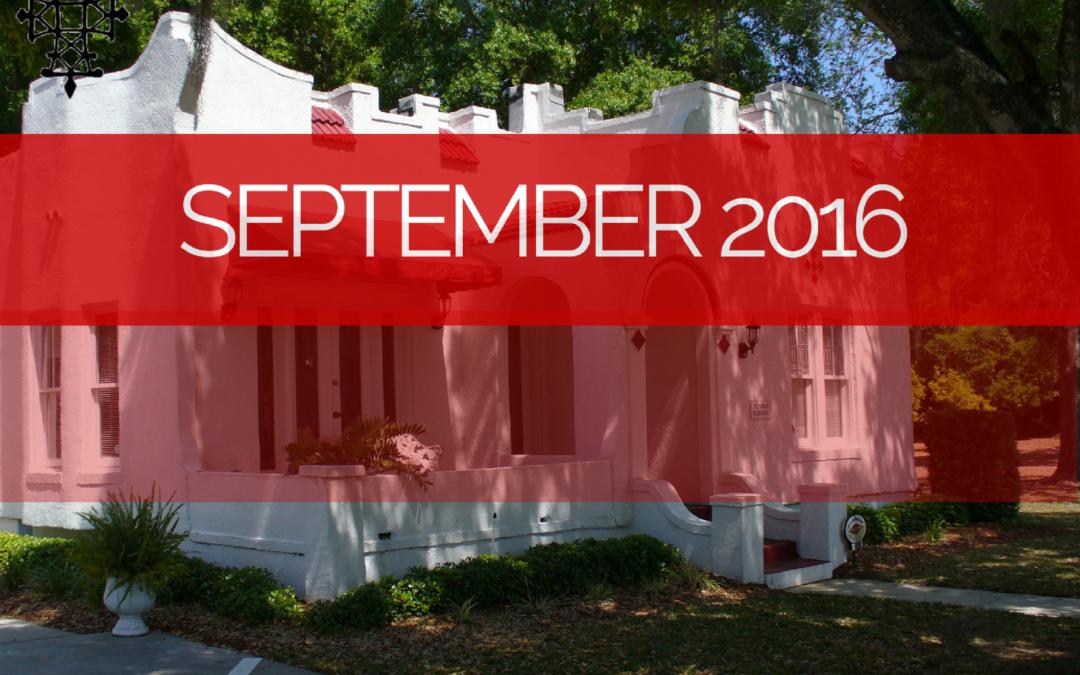 Sermons – Sep 2016