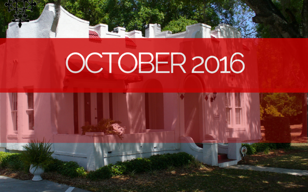 Sermons – Oct 2016