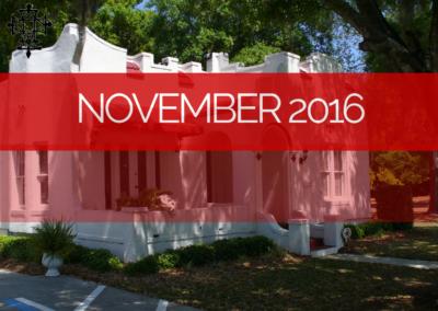 Sermons – Nov 2016